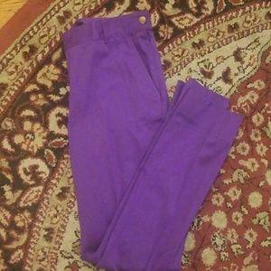 Lauren Ralph Lauren Purple Straigh Slacks Size 2
